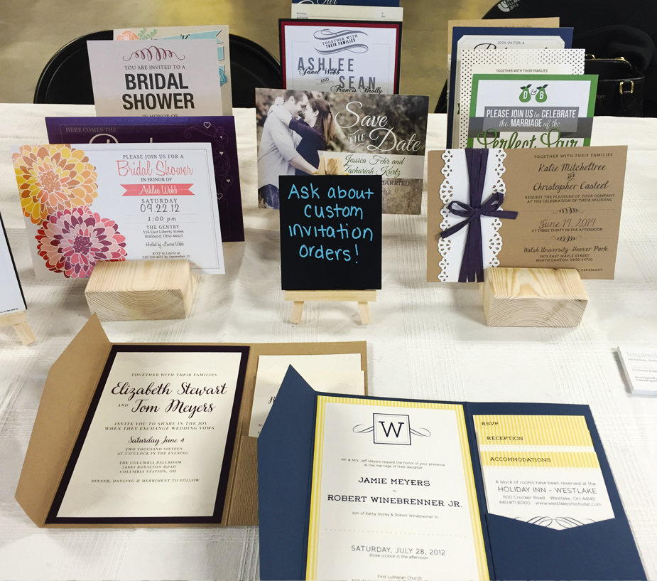 Inspired Paper Wedding Invitations at Crafty Mart