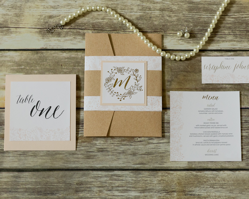 Rustic-Foil-Wedding-Invitation