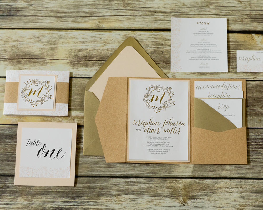 Rustic-and-Foil-Wedding-Invitation