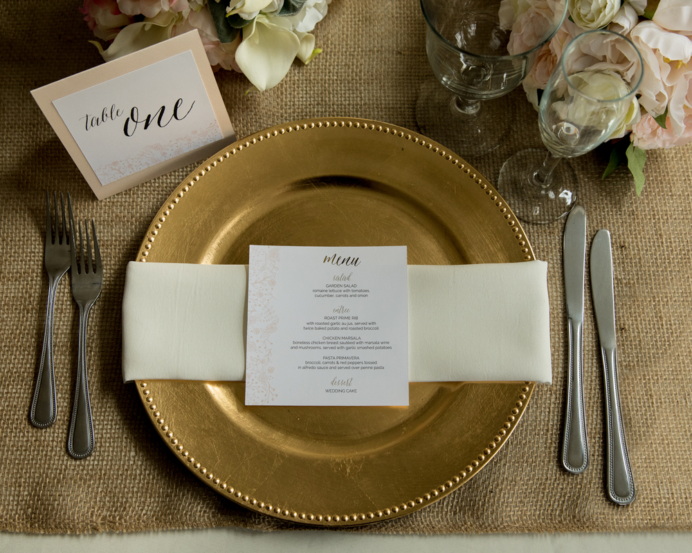 Whimsical-Gold-Wedding-Stationery