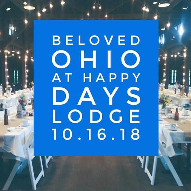 Are you coming to the @belovedohio show at Happy Days Lodge tomorrow? The Beloved shows are our favorite! Tons of inspiration and the best local vendors, without the chaos of other shows! #invitations #akron #happydayslodge #wedding #bridalshow #inspiration