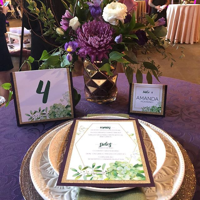We'll take all the sparkles please! Come see us at the @belovedohio show tonight at Happy Days Lodge! #invitation #wedding #tablesetting #gold #sparkles #akron #cleveland