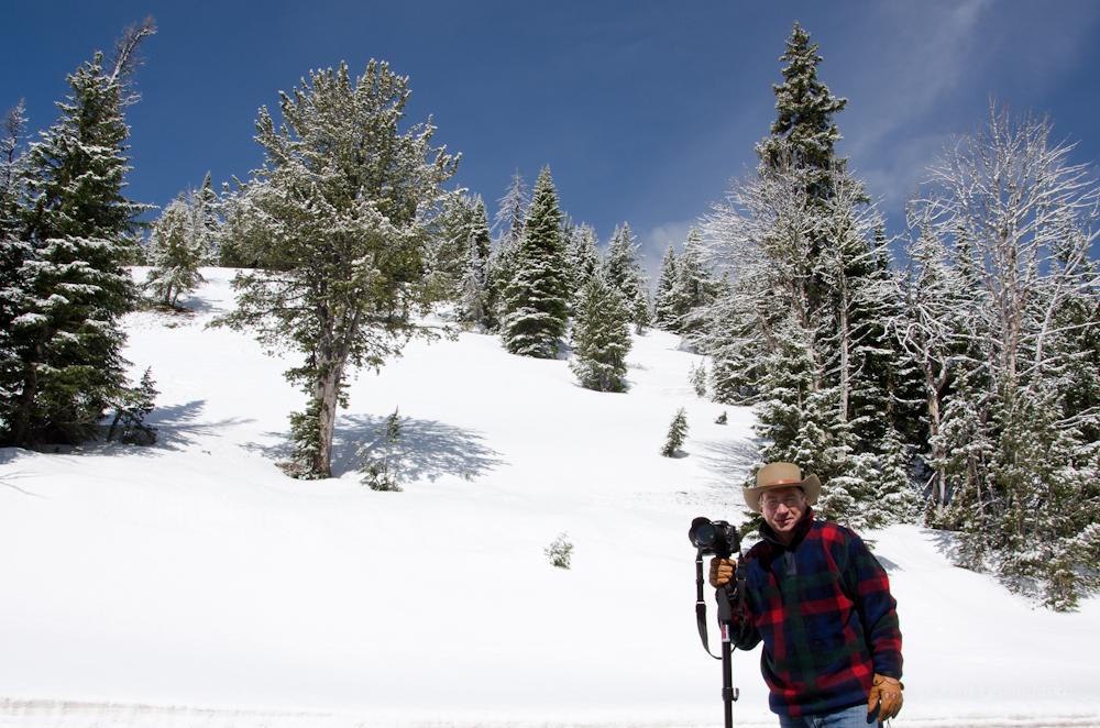 John at Dunraven Pass, Snow.jpg