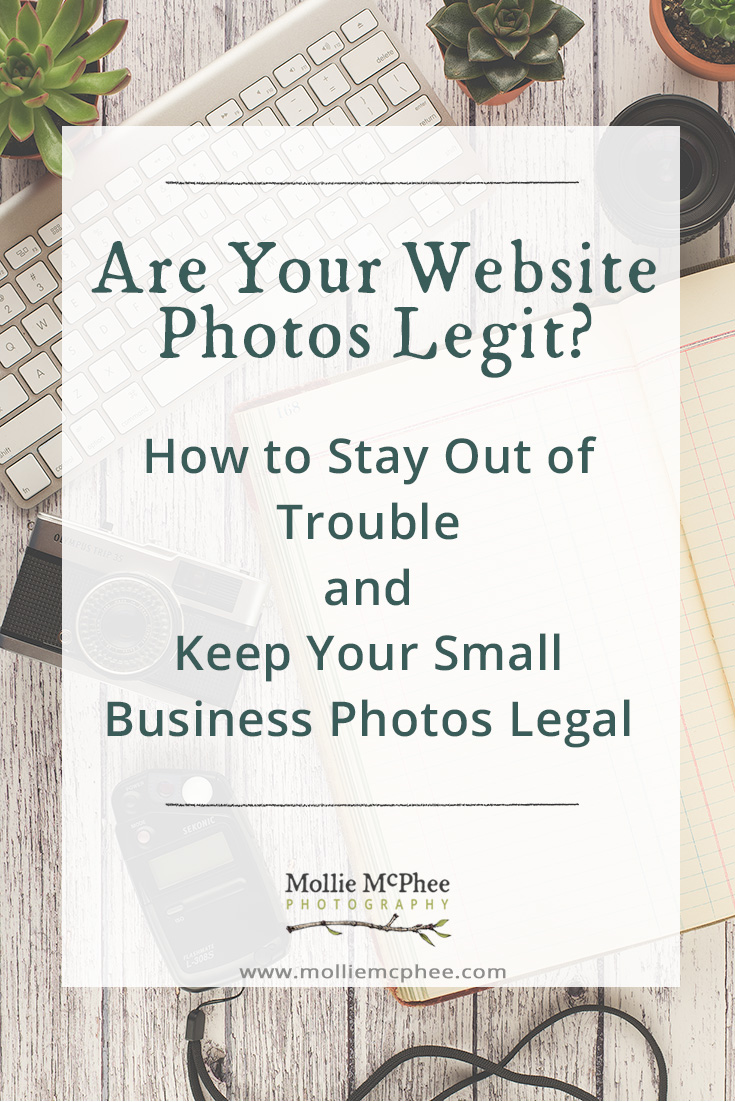 Are Your Website Photos Legit? Keeping Your Business Photos Legal