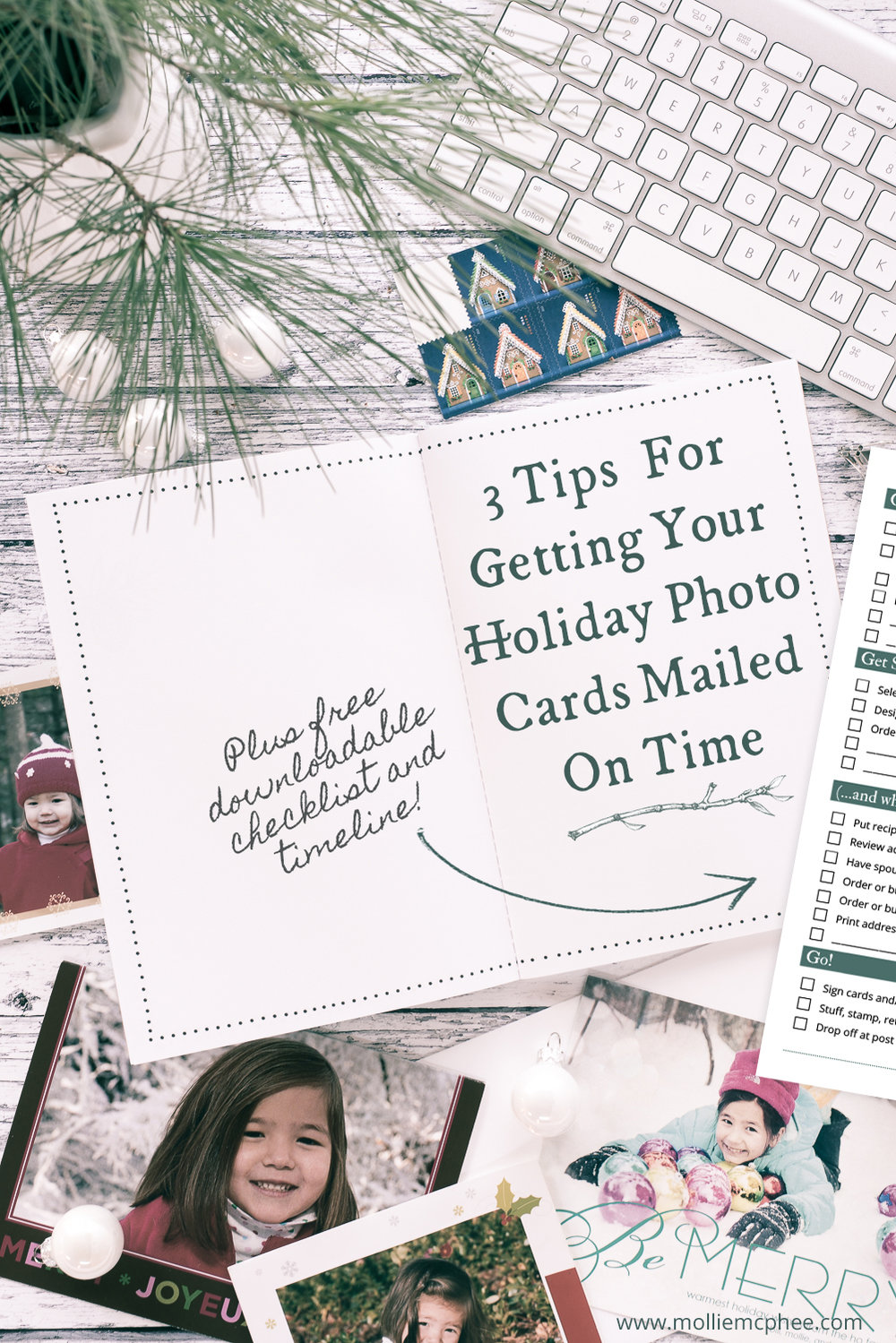 3 tips for getting your holiday photo cards mailed on time (plus downloadable checklist and timeline!)
