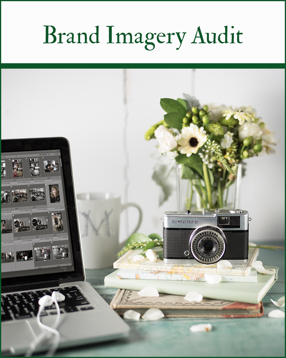 Evaluate your visual presence with a Brand Imagery Audit.