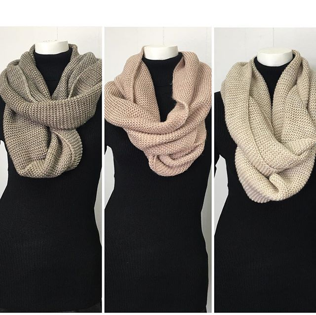 Infinity scarves available in all 3 colours $39 #women #womenswear #womensfashion #womenaccessories #accessories #fall #fallfashion #winter #winterfashion #scarves #colourful #mississauga #etobicoke #toronto #gta