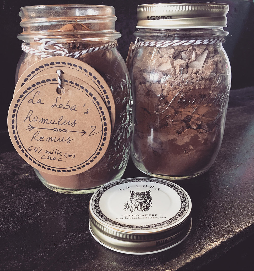 Romulus & Remus Hot Chocolate mix - vegan milk