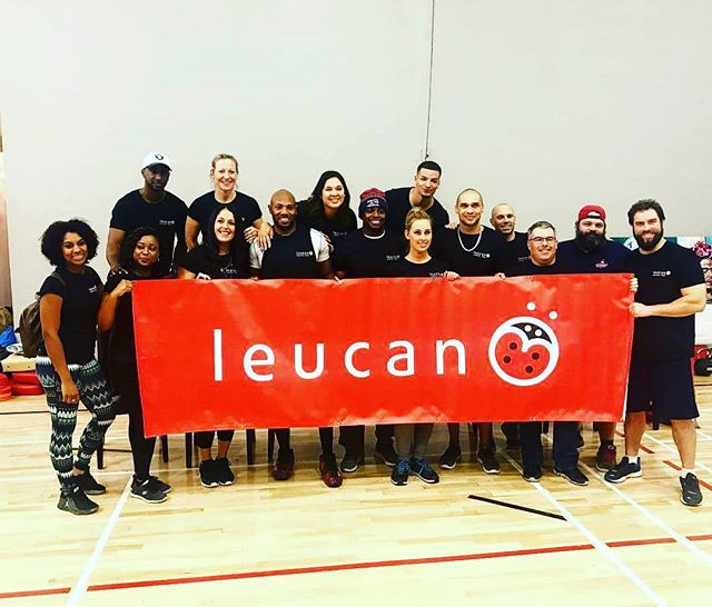 We are proud of organizing events to help raise funds for @leucan! Thank you to all the ladies that came out to participate to the 2018 edition of Lace It Up! 🏈👭👭 #KyCares #Leucan  #Montreal #Mtlmoments #football @kyhebert