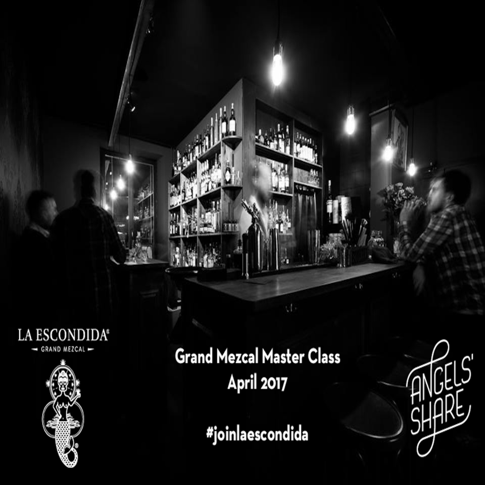 Grand Mezcal Master Class & Tasting at the Basel Angel's share bar | 18.04.17 |