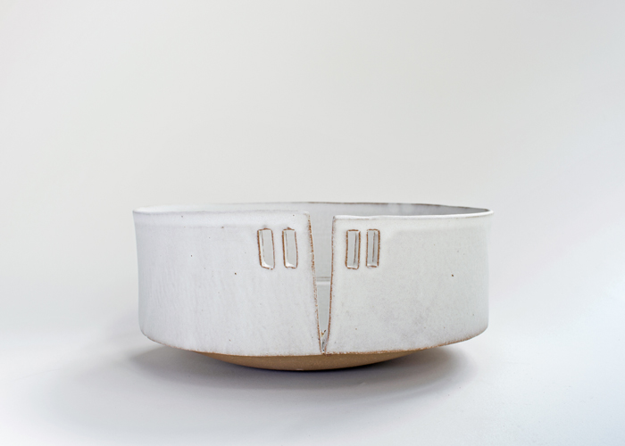Slitted Bowl, 2017