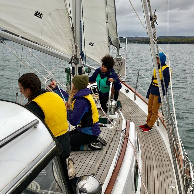 Last sail of the season with Northland College Sailing Club.