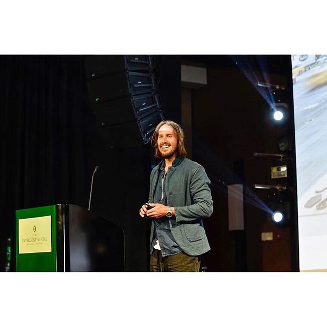 "#Repost @the.siegel ・・・ Throwback to speaking at the inaugural @CostaRicaFashionSummit. Thanks to the local #mops who taught me how to open my talk in real CR-slang by saying 'que naturaleza en este chante, mae"" Keep it real 🤙🏻 #costaricafashionsummit2017 #crfs17 #sustainablefuture"