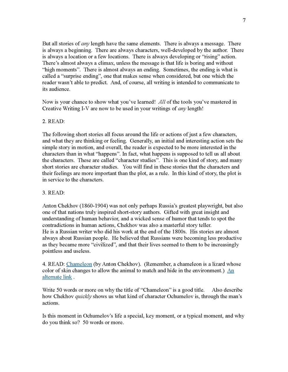 Letter of interest university