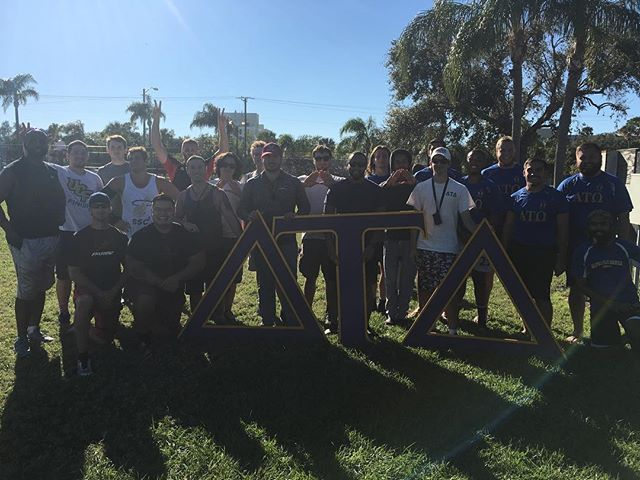 Huge thanks to the guys at ΔΤΔ - Delta Tau Delta for putting on their flag football tournament! All proceeds went to benefit @traintowininc and training for youth leaders, and team @traintowininc won the championship!! Can't say thanks enough to Mike Arenella and those guys for putting this all together, and thanks to @ontopmentality @bruceisontop @tuckerave @eric.swift and everyone who came out!!