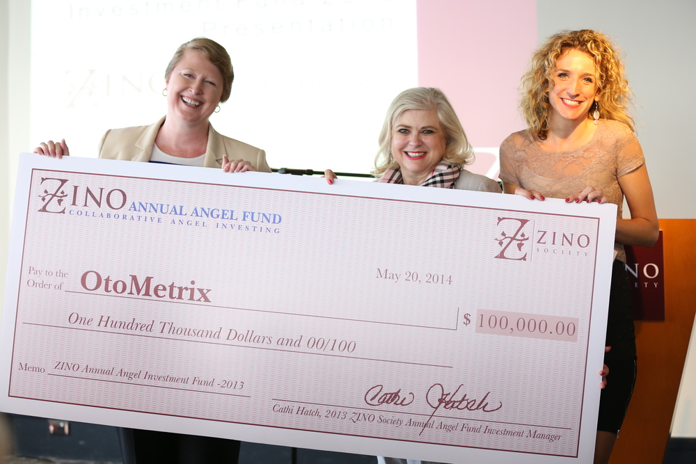 Zino 2014 Annual Angel Fund Check Presentation - Second Investment