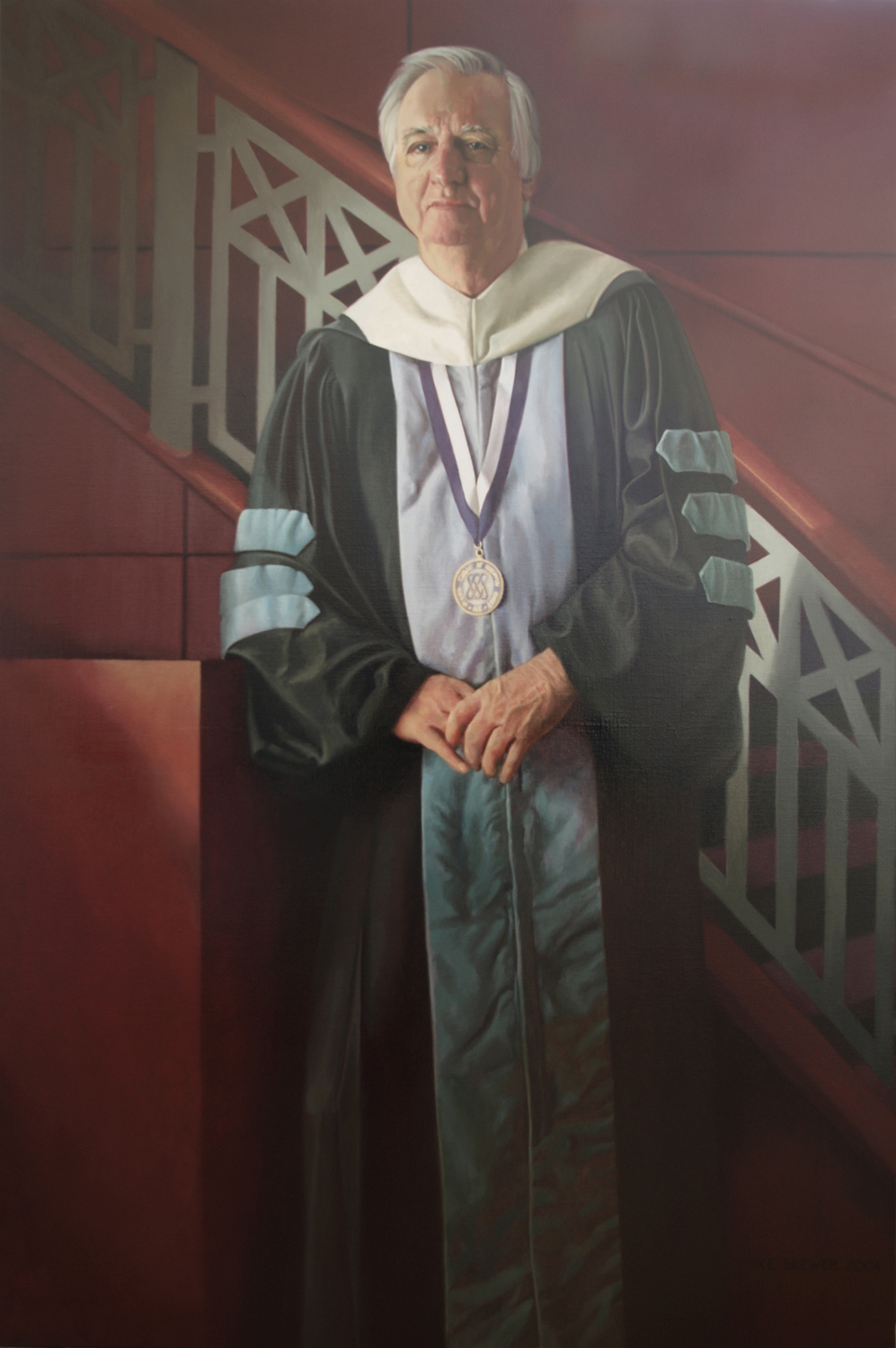 Dr. Edward E. Brickell, Past president of Eastern Virginia Medical School