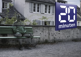 20 Minuten: VBZ und SAH werben mit fast gleicher Kampagne  Nach der VBZ startete auch das Schweizerische Arbeiterhilfswerk Zürich eine Kampagne, in der Personen mit dem Hintergrund verschmelzen. Wer die Idee zuerst hatte, ist unklar.    Read more...
