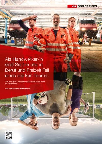 Persoenlich.com:  Ein Job bei der SBB hat viele gute Seiten. Die SBB begibt sich auf die Suche nach neuen Mitarbeitenden und positioniert sich dabei laut Mitteilung als zeitgemässe Arbeitgeberin, die einiges zu bieten hat.    Read more...