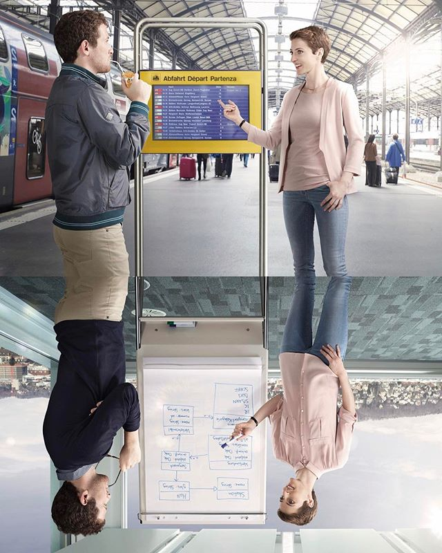 A comission work for Railway Switzerland (SBB). A collaboration with Advico Y&R, Zürich. @matsmattiz @alizaeva @myriamolimpia @meineliebesbande @dhondup_tersey #commercialphotographer #advertisingphotography #visualstorytelling #peopleshooting #sbb #simonandkim #postproduction #retouching