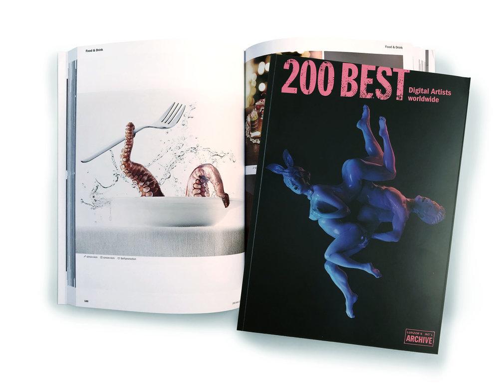 Lurzers Archiv International 2019/20: simon+kim among 200 best digital artist worldwide.