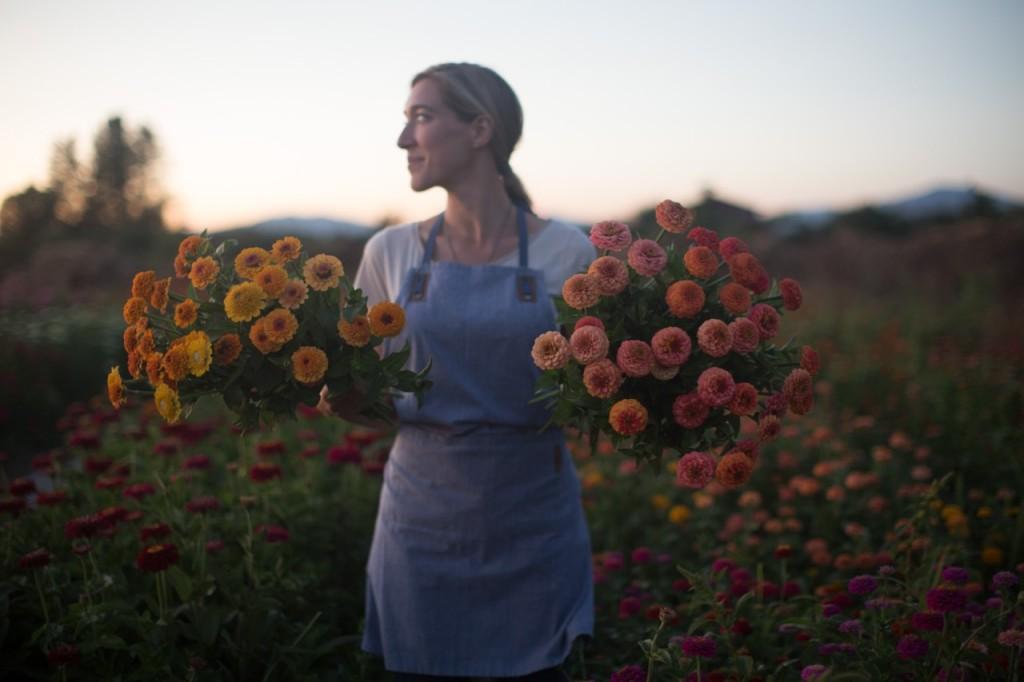 Erin at Floret Farm