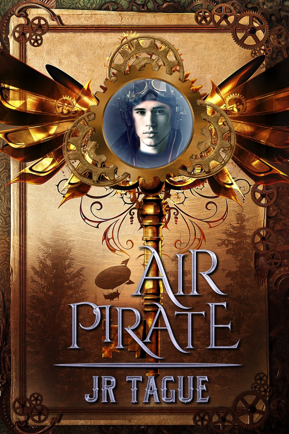 Air Pirate (Book One) - Townsman thief-for-hire, Darien North, survives a crash landing when his airship explodes over hostile Woodsman territory. He even manages to ingratiate himself to members of the tribe that finds him, including a beautiful girl with wild hair and deadly archery skills. For the first time in his life, Darien starts to feel at home. But his happiness is cut short when the Town's commissioner blackmails him into stealing a secret heirloom from the Woodsman tribes. After years of being a loner, Darien is forced to choose between competing loyalties: friends or family, woods or town. And when he learns of an old, deadly weapon that could put all of humanity at risk, he must decide what—or whom—he's willing to sacrifice to save them all.