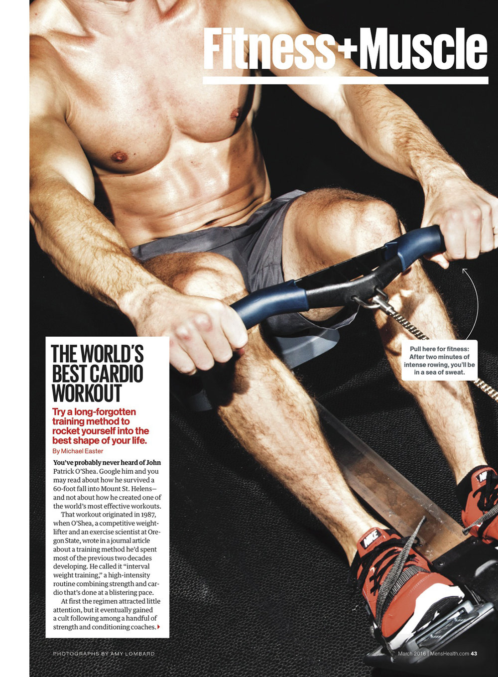 Cardio Workout // Men's Health