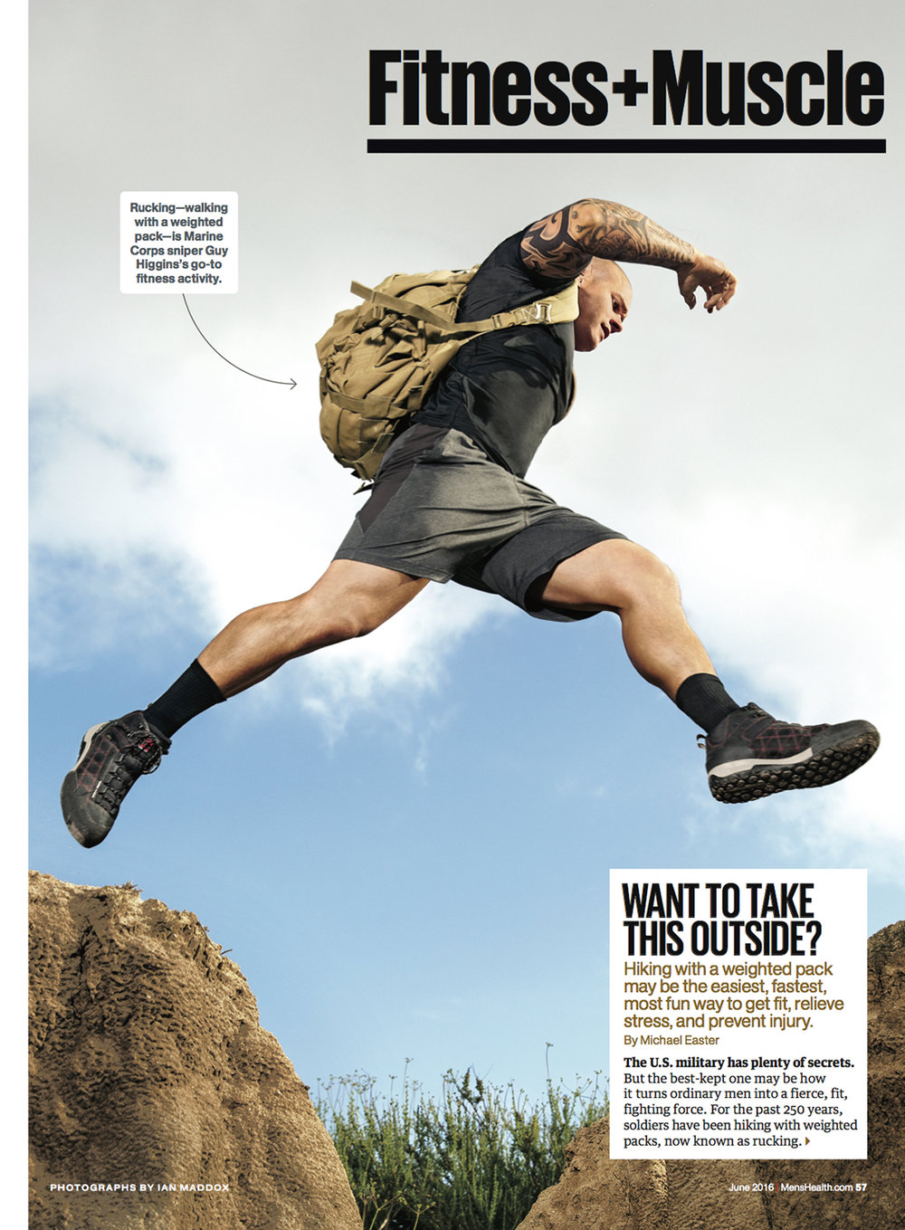 Rucking // Men's Health