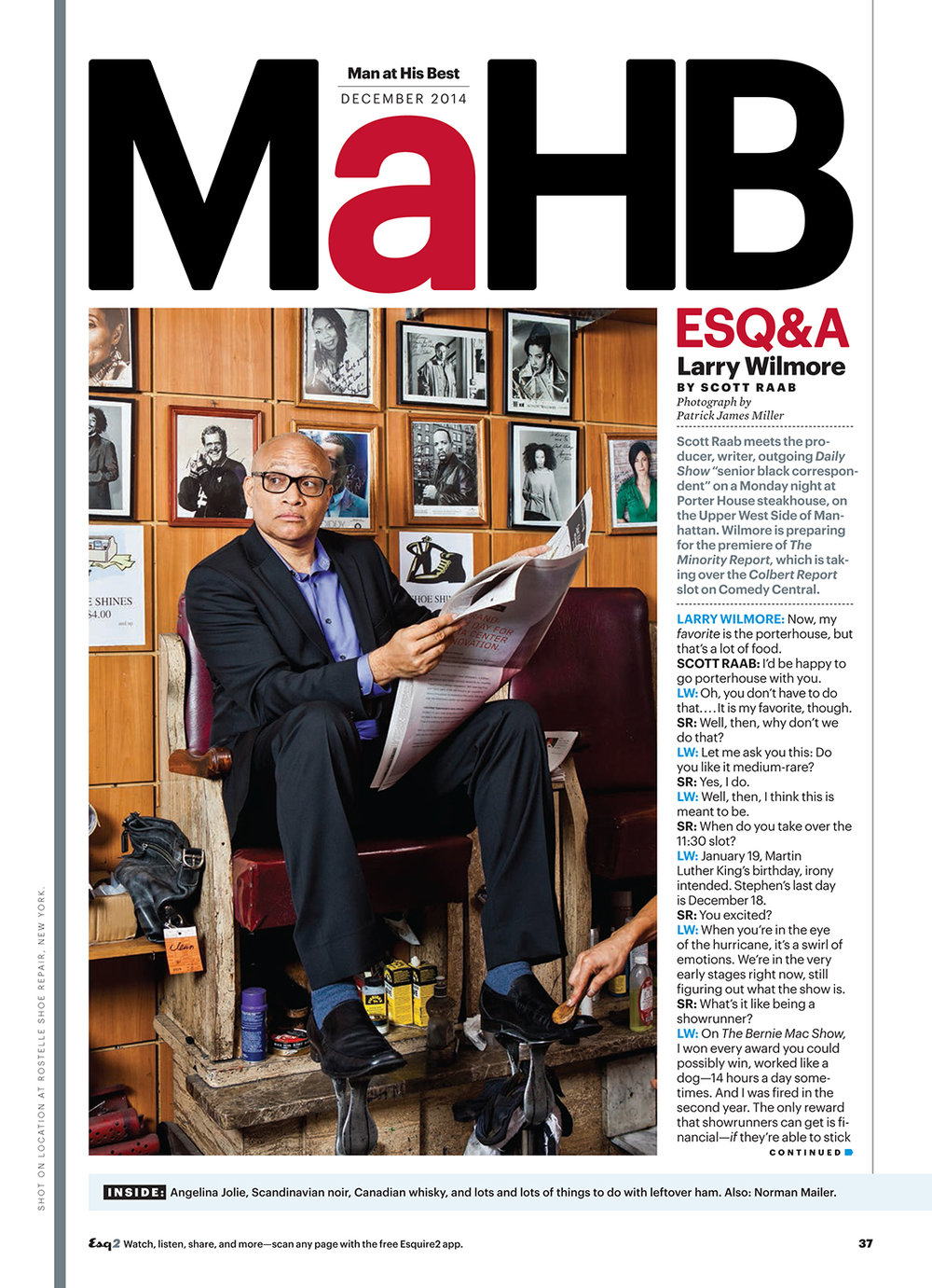 Larry Wilmore // Esquire