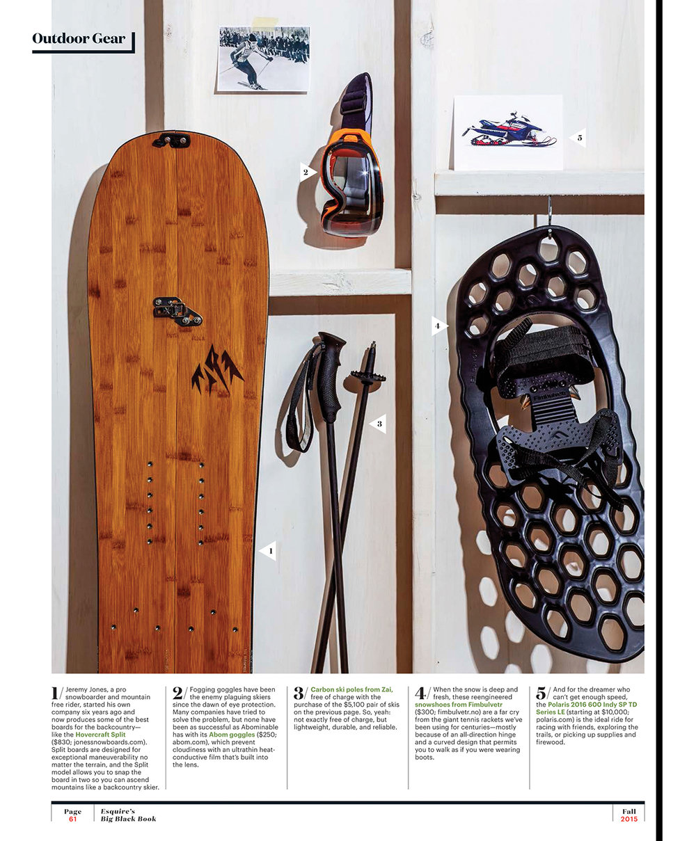Winter Gear // Esquire's Big Black Book