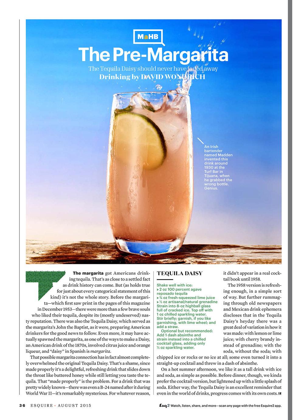 Tequila Daisy // Esquire