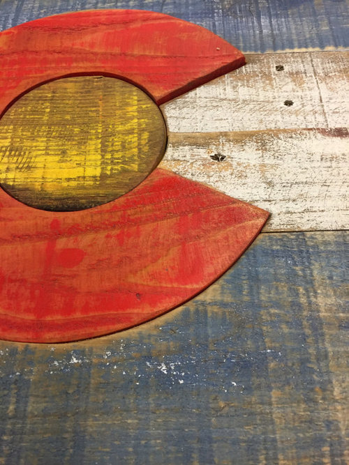 reclaimed wood colorado table reclaimed wood colorado flag roots mercantile