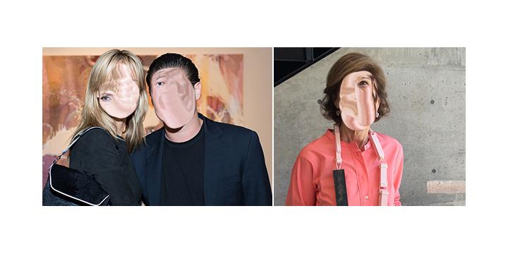 Left-Model Heidi Klum and Vito Schnabel. (Photo- Jenifer McNeil Baker) Right- Collector Deedie Rose_01.jpg