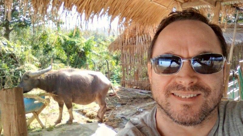 Matt's Buffalo Selfie