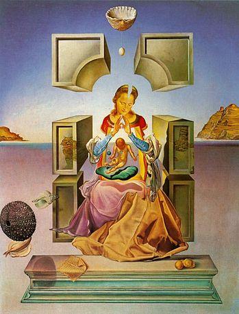 Salvador Dali, The Madonna of Port Ligat, 1949