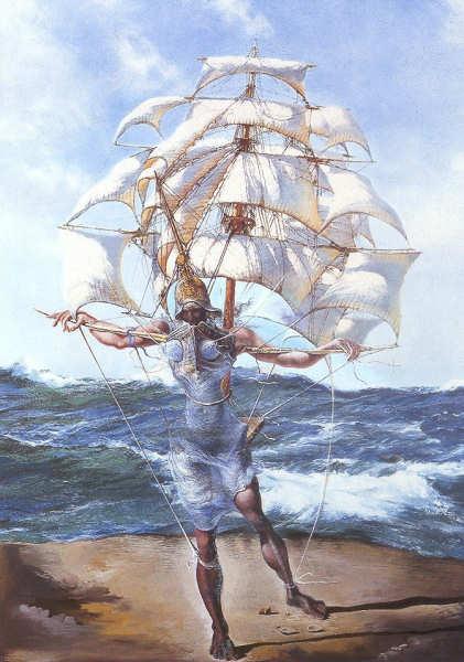 Salvador Dalí, The Ship, 1943