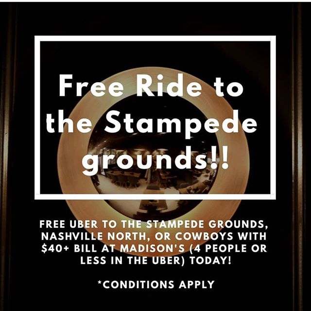 Loving this idea from @madisons1212 💡 ❤️🙏🏻 #Uber #stampede #cmngdpartner