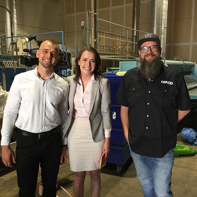 We are being featured on @ctv_calgary today sharing our story about transitional employment for people facing poverty & homelessness... and our incredible partners! Short story at 5 pm and full story at 6 pm. #InItTogether