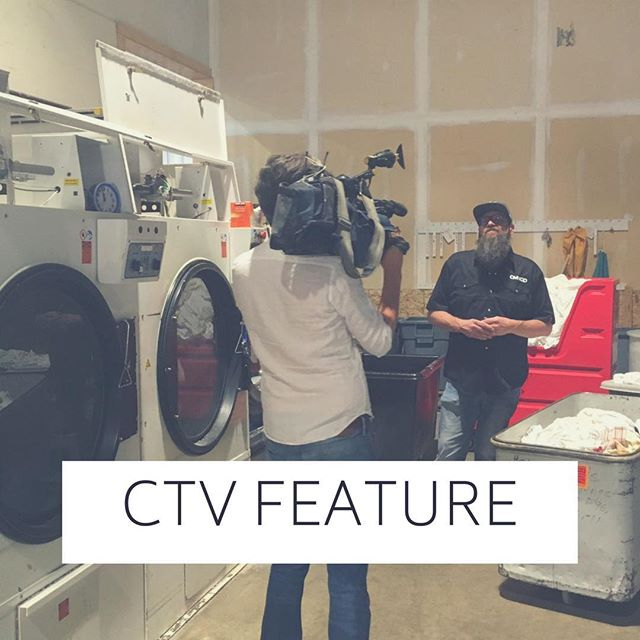 """""""It has built up my self-esteem and makes me into the man that I want to be."""" - Gary CMNGD employee. Check out our fearless employee as he shares his story with @ctv_calgary. 🙌🏻 Link in bio 🙏🏻. THANK YOU to Dewey at @thebridgettebar & Alex at The @mustardseedyyc and our CEO @silverfoxc for being apart of this story. #InItTogether"""