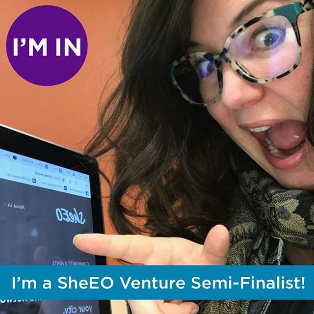 We couldn't be more excited to be selected as one of the Top 25 Ventures of @sheeo_world! #InItTogether #RadicalGenerosity #dogood #socent #socialimpact