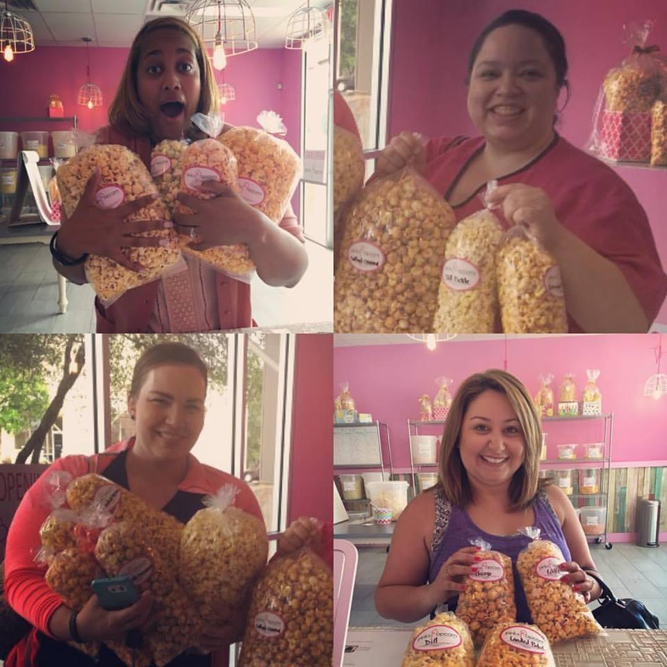 Popcorn lunch ladies