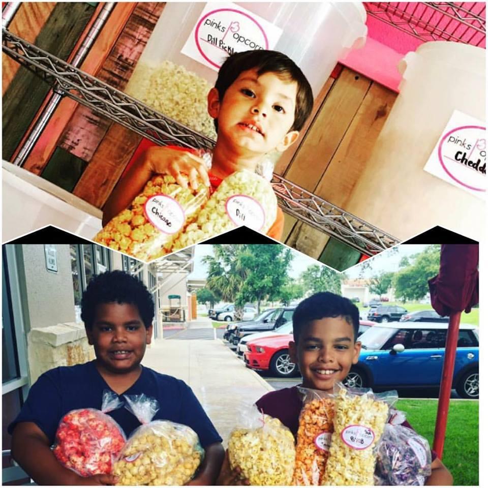 boys love popcorn