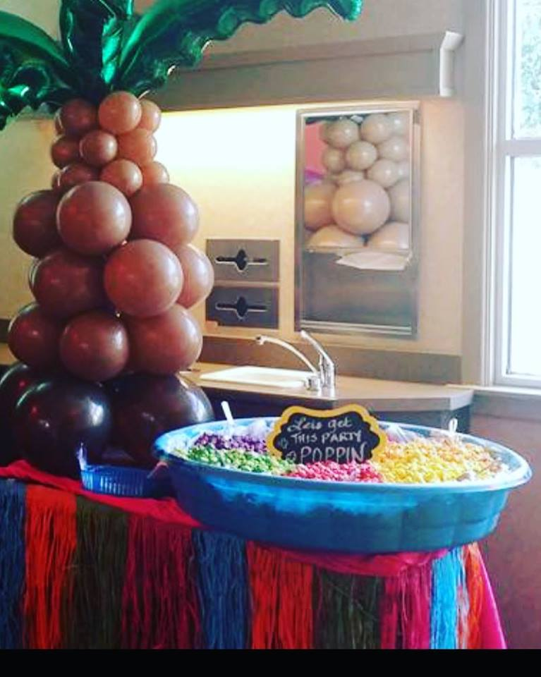 popcorn pool for a corporate event