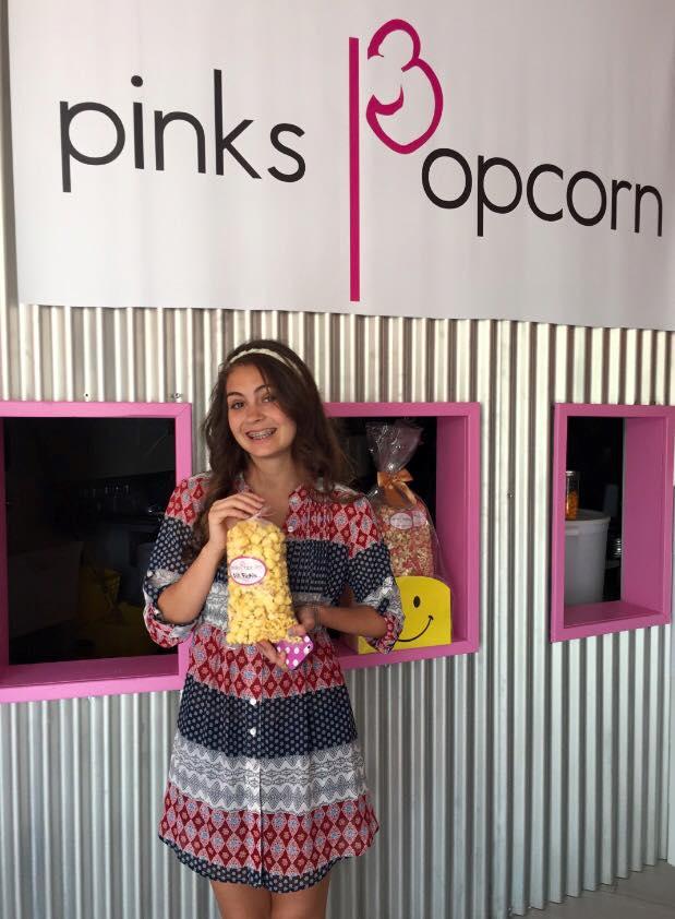 popcorn for her birthday