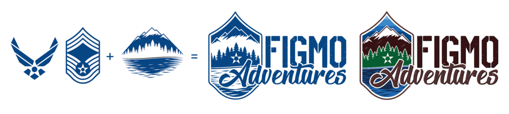 FIGMO Adventures Brand Progression