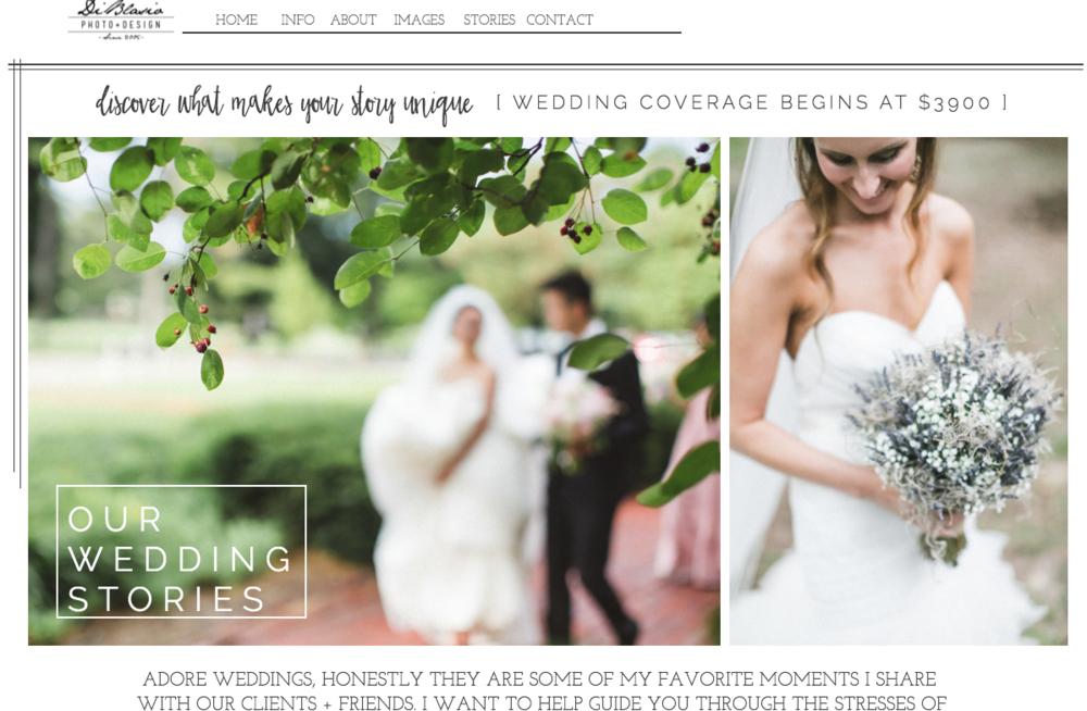 Website Starting Cost DiBlasio Photo