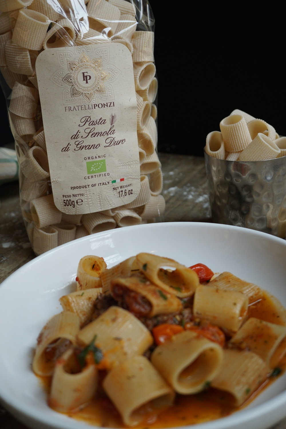 Fratelli Ponzi organic Italian pasta is comprised of heritage wheat that is exclusively made for our restaurant.