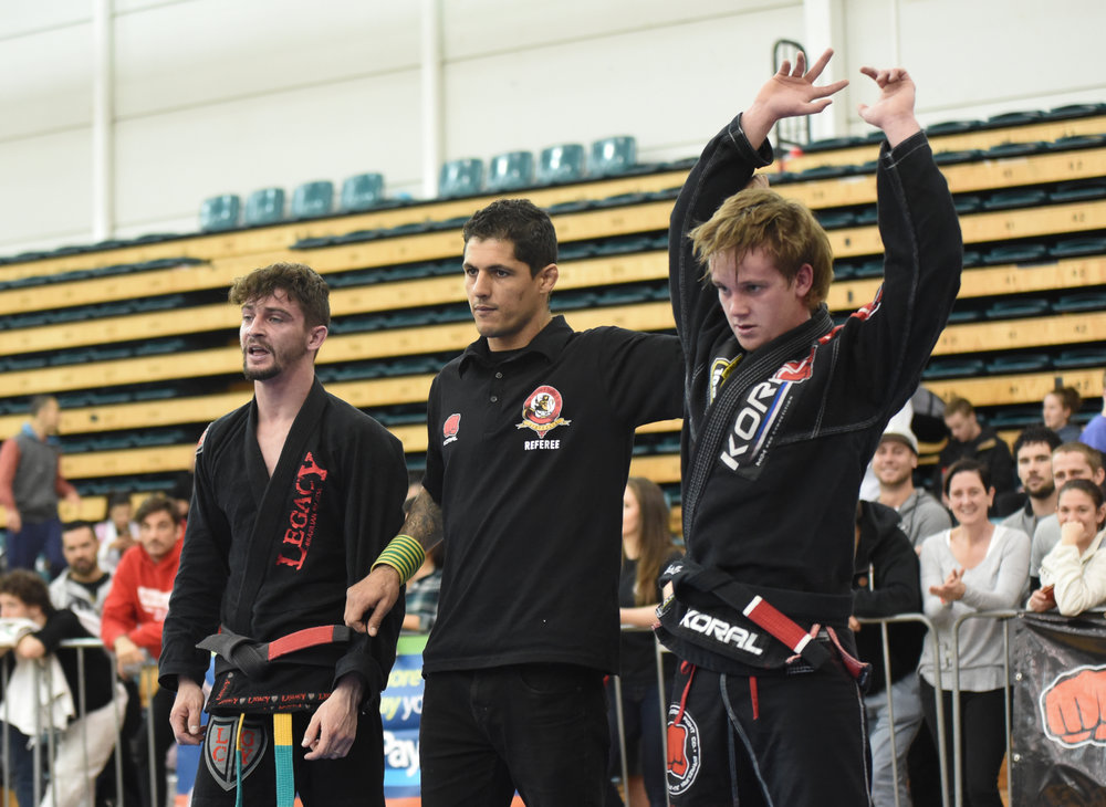 Max became Australia's youngest Black Belt National Champion at the AFBJJ Nationals 2017.