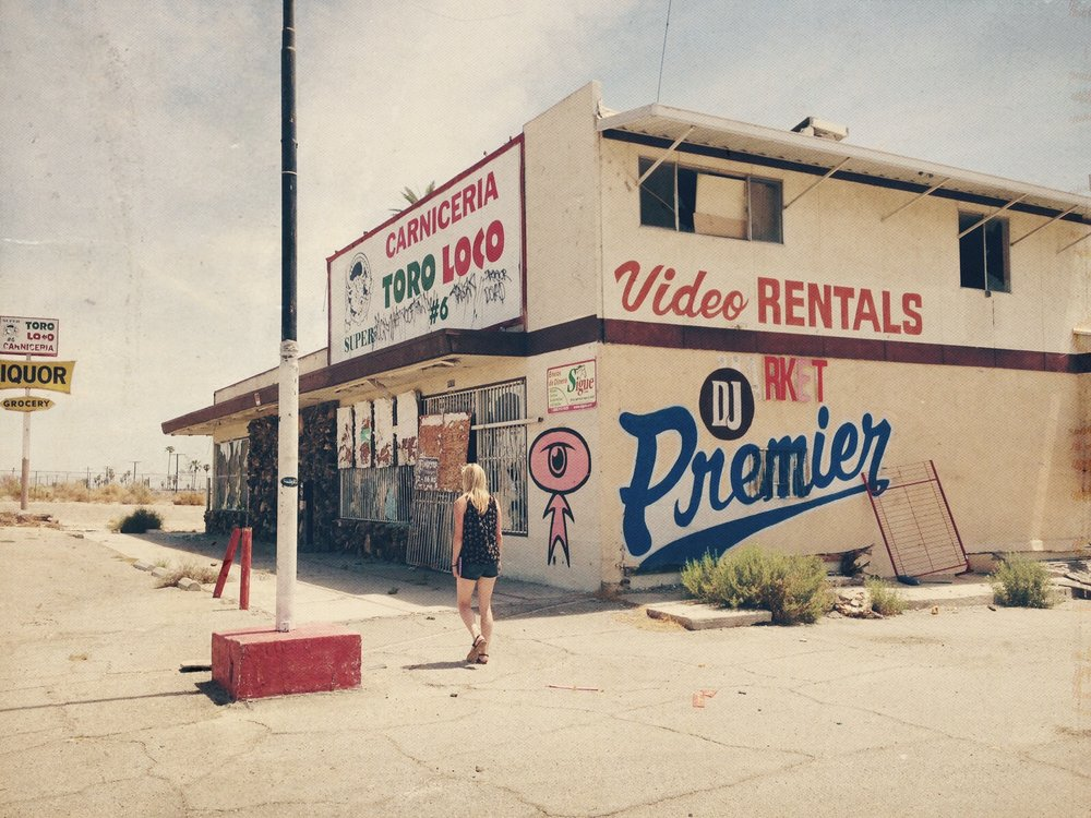 Abandoned Carniceria and Liquor Store, Salton Sea